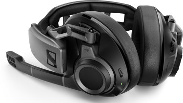 The black design makes the gaming headset discreet enough for office use.