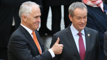 The paper analysed people's responses to claims by then prime minister Malcolm Turnbull and Opposition leader Bill Shorten.