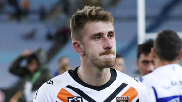 After many months of deliberation about the deal, the NRL is expected to allow the loan to go through and finally send Tigers centre Paul Momirovski to Melbourne.