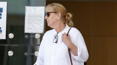 Taxi driver Helen Morel told the court she drove Mr Hayne to Sydney.
