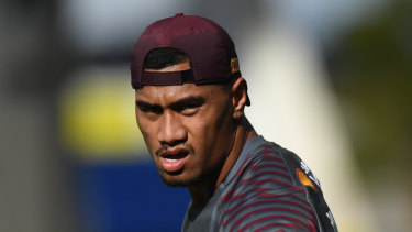 Ronaldo Mulitalo was ruled ineligible to make his State of Origin debut on Sunday morning, just hours before kick-off.