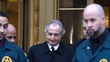 Bernie Madoff was the mastermind of the world's biggest Ponzi scheme.