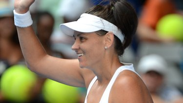Casey Dellacqua has decided it is time to hang up her racquet.