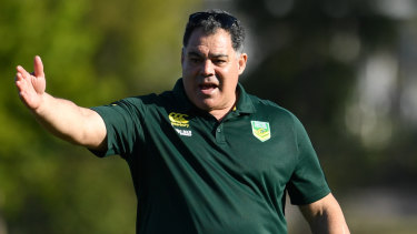My way: Mal Meninga could be the man to wake the NRL's sleeping giants.