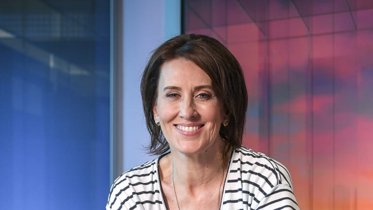 ABC broadcaster Virginia Trioli has revealed early #MeToo moments in a speech to young journalists today.