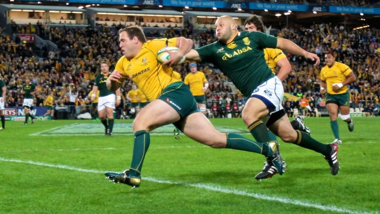 Ben Alexander played 72 Tests for Australia and scored four tries for the Wallabies.