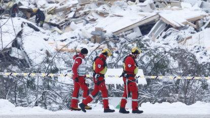 Three bodies recovered from Norwegian landslide, seven still missing