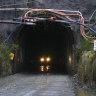 The Henty Gold Mine in Tasmania.