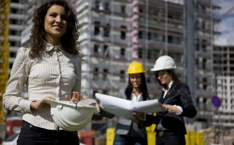 Only about 16 per cent of engineering students in Australia are female.