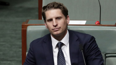 Liberal MP Andrew Hastie spoke out against the National Energy Guarantee in the party room.