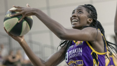 Ezi Magbegor scored 25 points for the Boomers.