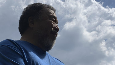 Chinese artist and activist Ai Weiwei also visited the WikiLeaks founder at Belmarsh Prison.