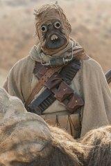 Tatooine's Tusken Raiders feature in The Mandalorian.