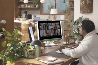 The Poly Studio P21 is a very slick device for office work and video calls.