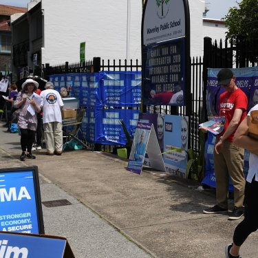 Residents in the federal electorate of Wentworth vote in a by-election after former PM Malcolm Turnbull quit the seat.