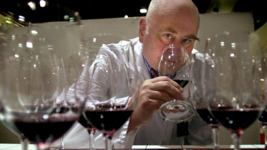 James Halliday, at the National Wine Show in Canberra, has given WA wines his tick of approval ... again.