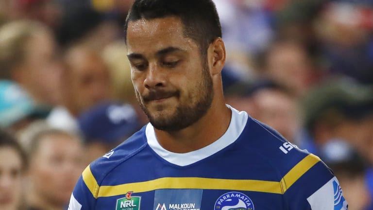 Likely return: Jarryd Hayne is poised to make his comeback against Manly.