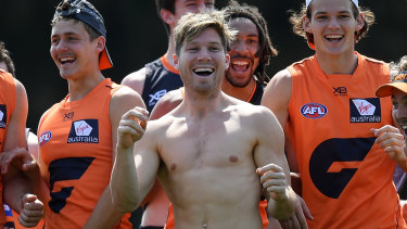 """Public enemy: Toby Greene tends to rub opposition fans the wrong way, but GWS Giants coach Leon Cameron says he """"thrives"""" off booing."""
