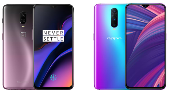 Battle of the Chinese superphones: OnePlus 6T v Oppo R17 Pro