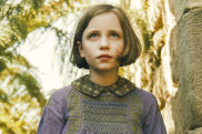 Dixie Egerickx plays Mary Lennox in the latest screen version of The Secret Garden, now due for release later this year.