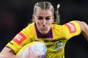 Leading light: Jillaroos captain Ali Brigginshaw helps her team to a big win over New Zealand.