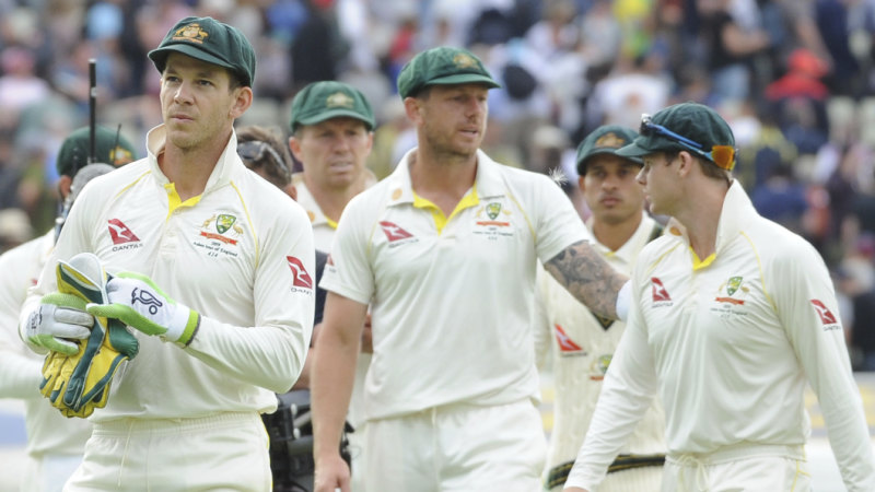 Ashes 2019 Australia Vs England First Test Day Five Live