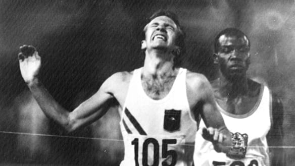 After 50 years, Australia's last male Olympic track champion still holding the baton