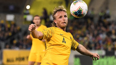 Rhyan Grant had to bide his time but is now a vital member of the Socceroos.