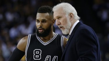 Guided tour: San Antonio guard Patty Mills is eager to show coach Gregg Popovich his home country.