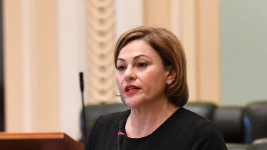 Queensland Labor Member for South Brisbane Jackie Trad.