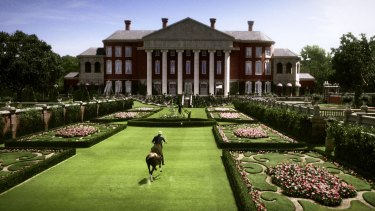 The Sydney Polo Club in Richmond as it appeared in The Great Gatsby.