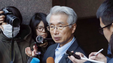 """Dumbfounded"": Junichiro Hironaka, lawyer for Nissan's former boss Carlos Ghosn."