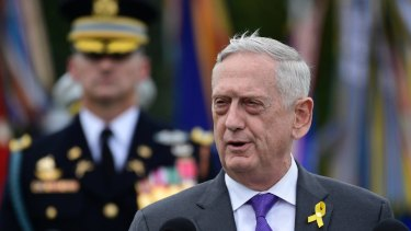 US Defence Secretary Jim Mattis announced his departure from the Trump administration on Thursday local time.