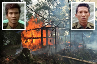 "Privates Myo Win Tun and Zaw Naing Tun have confessed to killing and rape during the Myanmar army Rohingya ""clearance operations""."