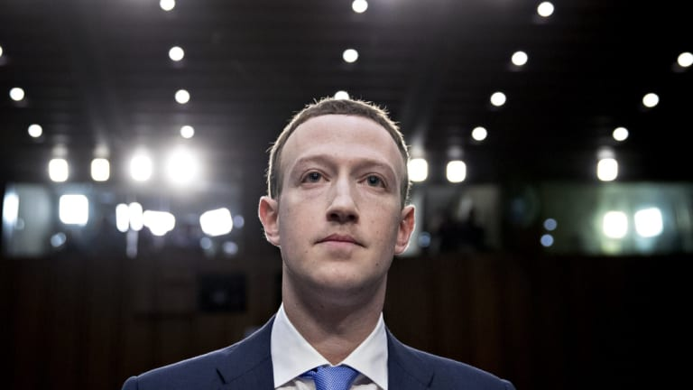 """Our systems for detecting interference in elections are a lot more mature now,"" chief executive Mark Zuckerberg said last month."