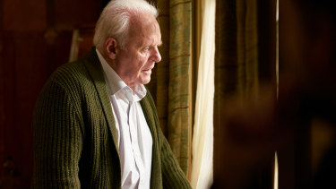 Anthony Hopkins plays a man struggling with the fog of dementia in The Father.