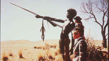 'Walkabout' was Nicolas Roeg's first film as a solo director, starring David Gulpilil, Jenny Agutter and Lucien John.