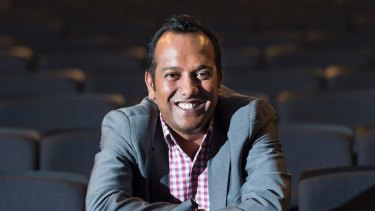 Festival director Nashen Moodley has had a long career championing filmmakers from diverse backgrounds.