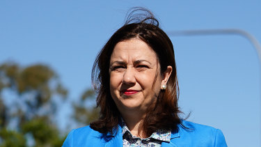 Queensland Premier Annastacia Palaszczuk will announce a decision about borders on Tuesday.