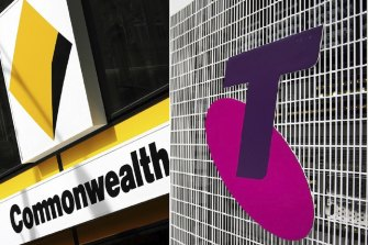 Telstra plans to sell electricity and gas and Commonwealth Bank is moving into energy and NBN.