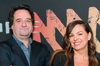 Triple M's national drive show hosts Mick Molloy and Jane Kennedy.
