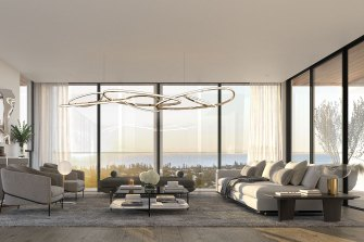 Blackburne will unveil designs for five new penthouses in the coming weeks.