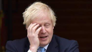 Forfeiting Britain's influence and power in the world? It has been a long week for British PM Boris Johnson.