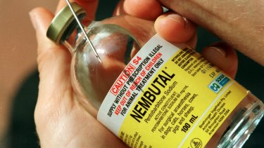 One of the drugs that could be used for voluntary euthanasia.