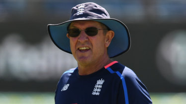 Trevor Bayliss has just finished his stint in charge of England.