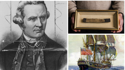 Small piece of timber from Captain Cook's Endeavour up for $400,000 auction
