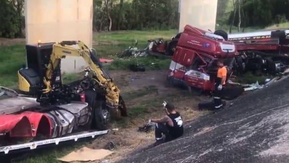 Woman says 000 call was 'ignored' after truck crash