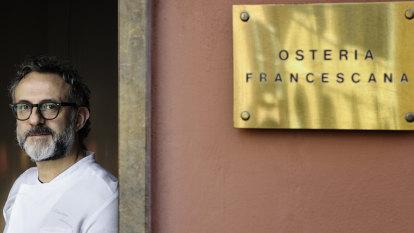Massimo Bottura's tour through the world's best restaurant