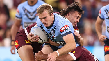 The Blues will miss Jake Trbojevic in game two of the Origin series - and possibly game three.