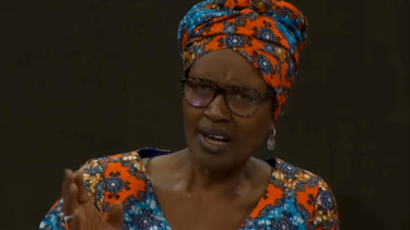 Byanyima has been attending the forum for the past few years to publiciseOxfam's yearly study on economic inequality.